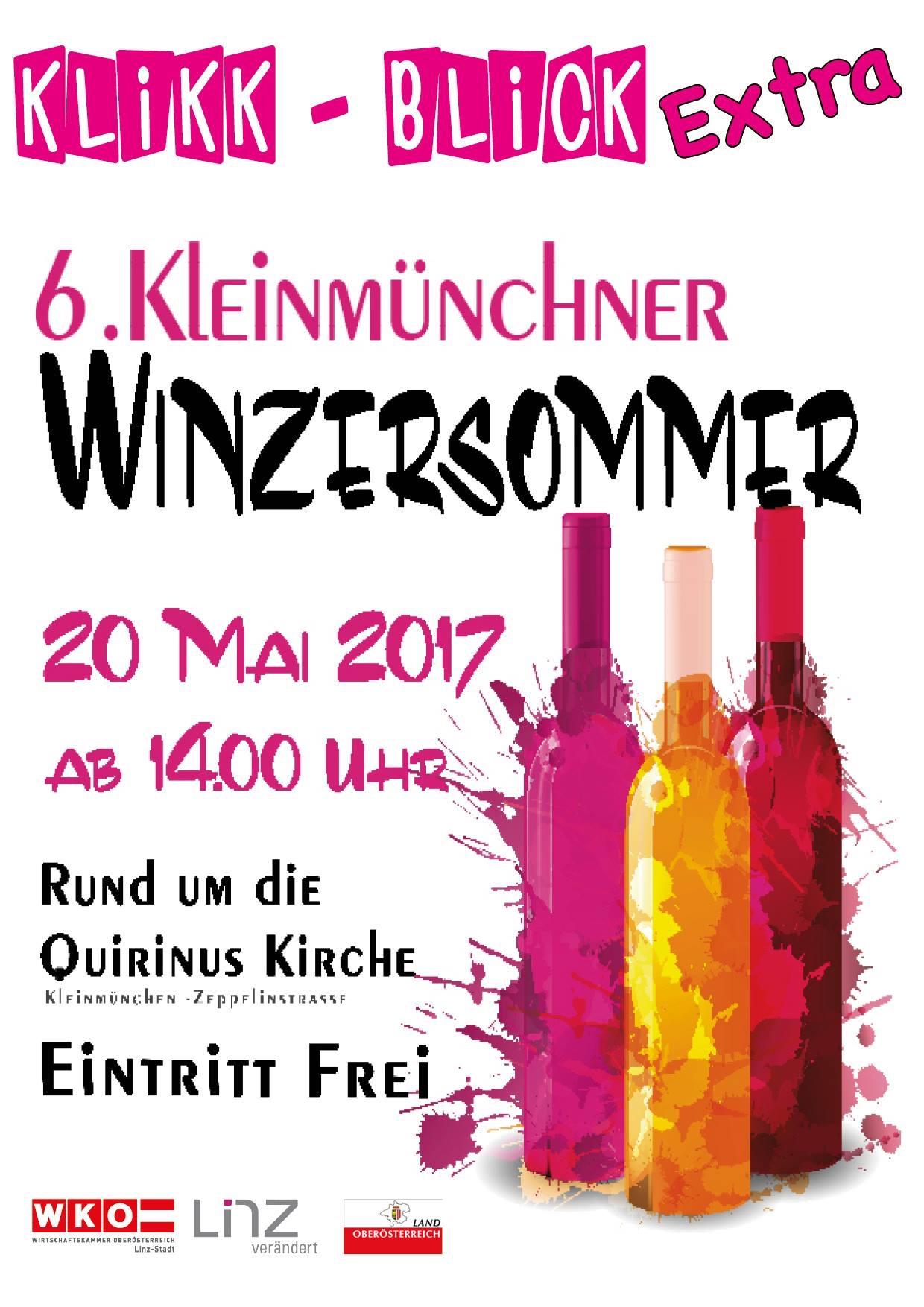 Winzersommer in Linz-Kleinmünchen
