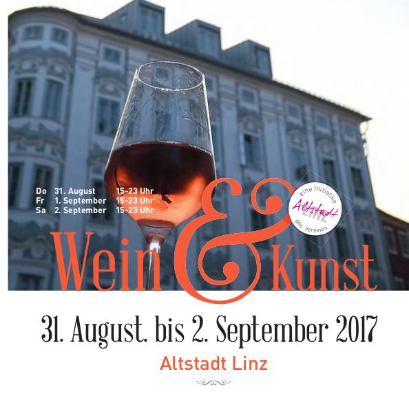 Wein und Kunst Linz 2017