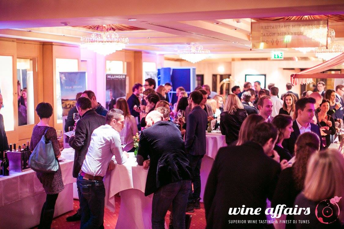 Wine Affairs – die Weinmesse am 9. April 2018 im Hilton Vienna