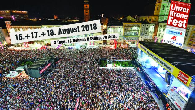Linzer 'Krone'-Fest 23. & 24. August